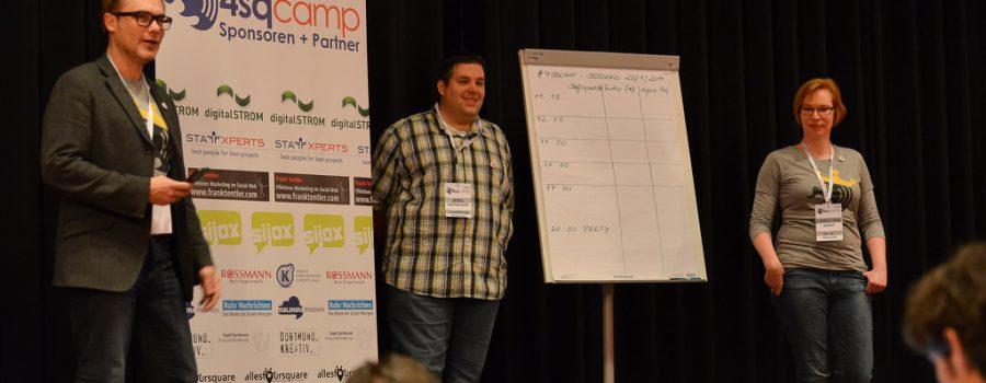 4sqcamp 2014 in Dortmund