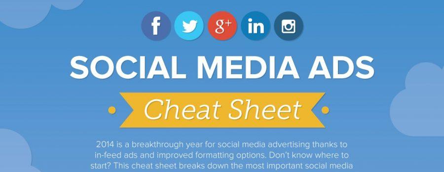 Cheat Sheet Social Media Werbeschaltung