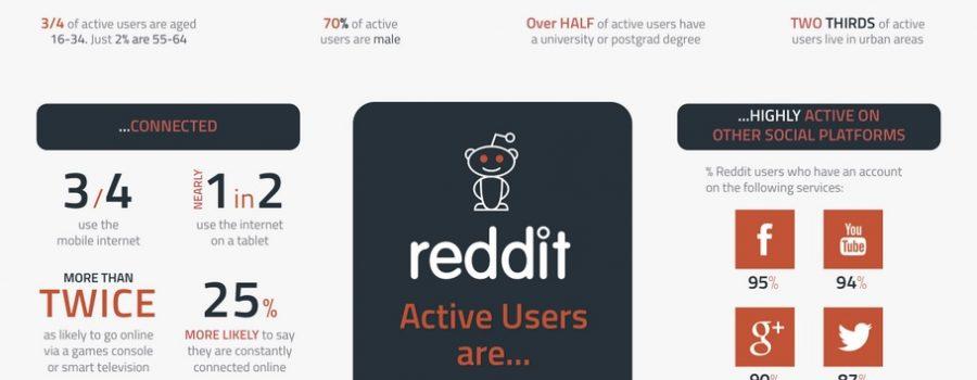 Reddit Nutzer Infografik