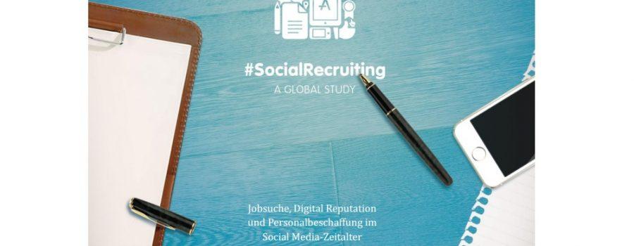 Studie SocialRecruiting 2014