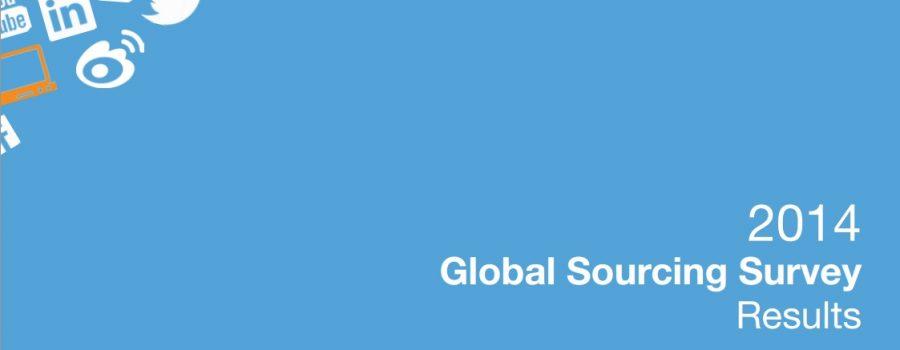 Studie Global Sourcing Survey 2014