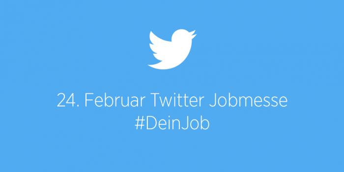 Twitter #deinjob Jobmesse