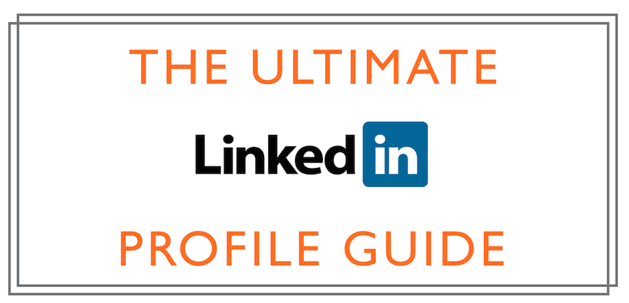 Infografik LinkedIn Profil Vorlagen