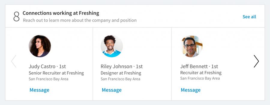 linkedin job listings update
