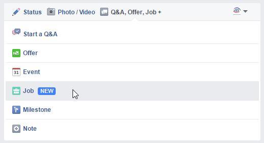 facebook-seiten jobs-beitragsformat