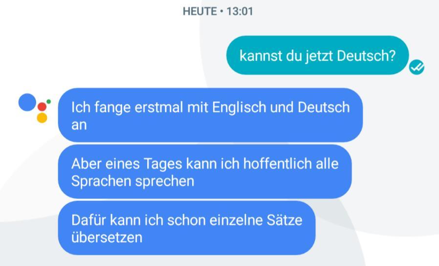 google allo deutsch