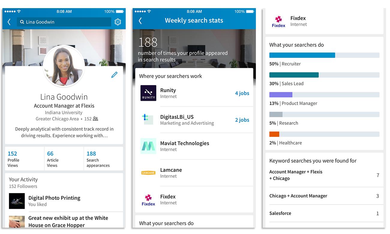 LinkedIn Neue Funktionen für die Profil Optimierung   Job ...