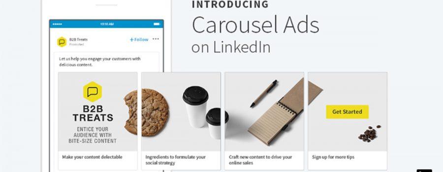 linkedin carousel-anzeigen