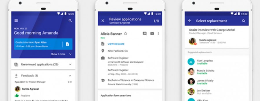 google hire android-app