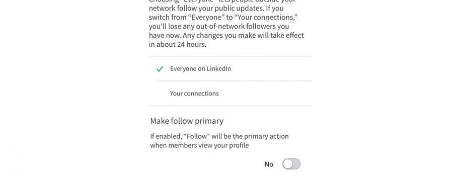 linkedin folgen-button profile