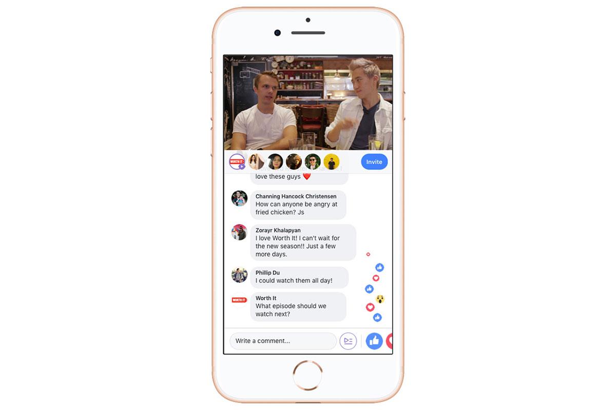 facebook watch party seiten
