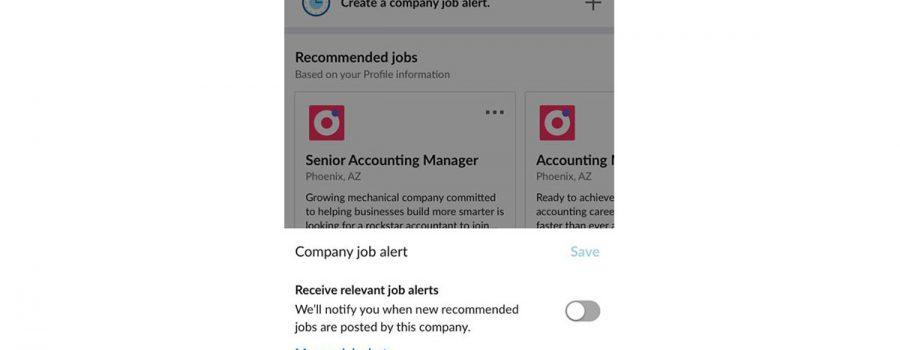 linkedin career pages