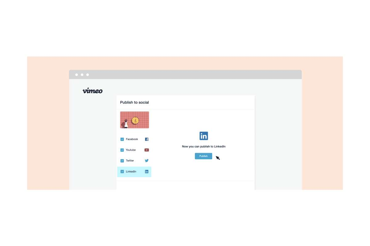 linkedin-integration vimeo
