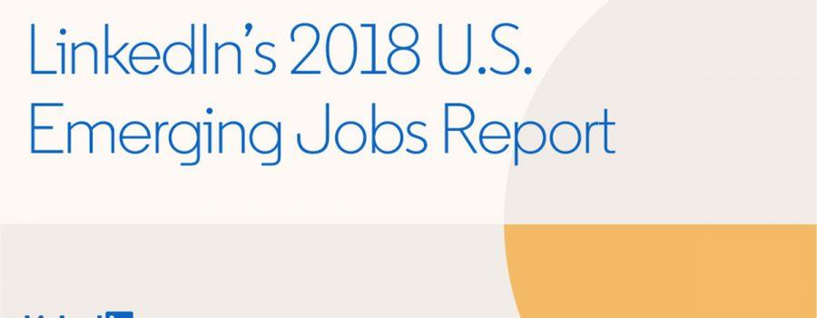 linkedin emerging jobs 2018