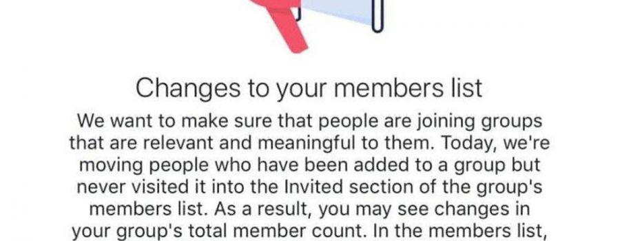 facebook gruppeneinladungen