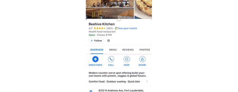 google maps follow-button