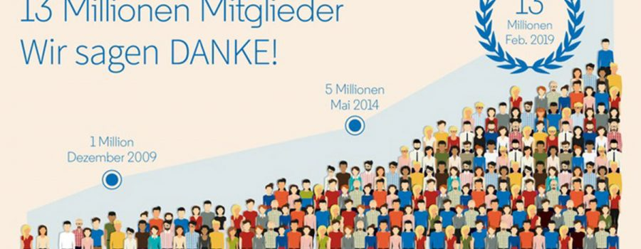 linkedin 13 millionen dach-region