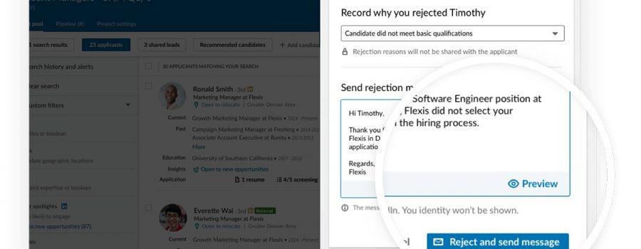 linkedin intelligent hiring experience