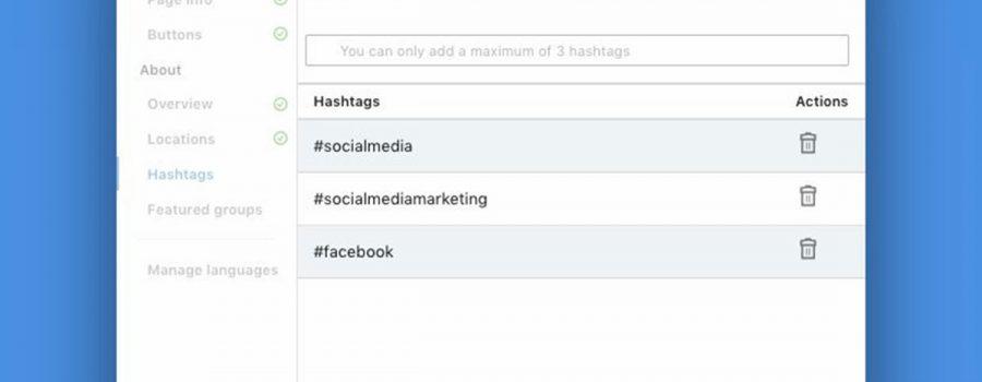 linkedin unternehmensseiten hashtags