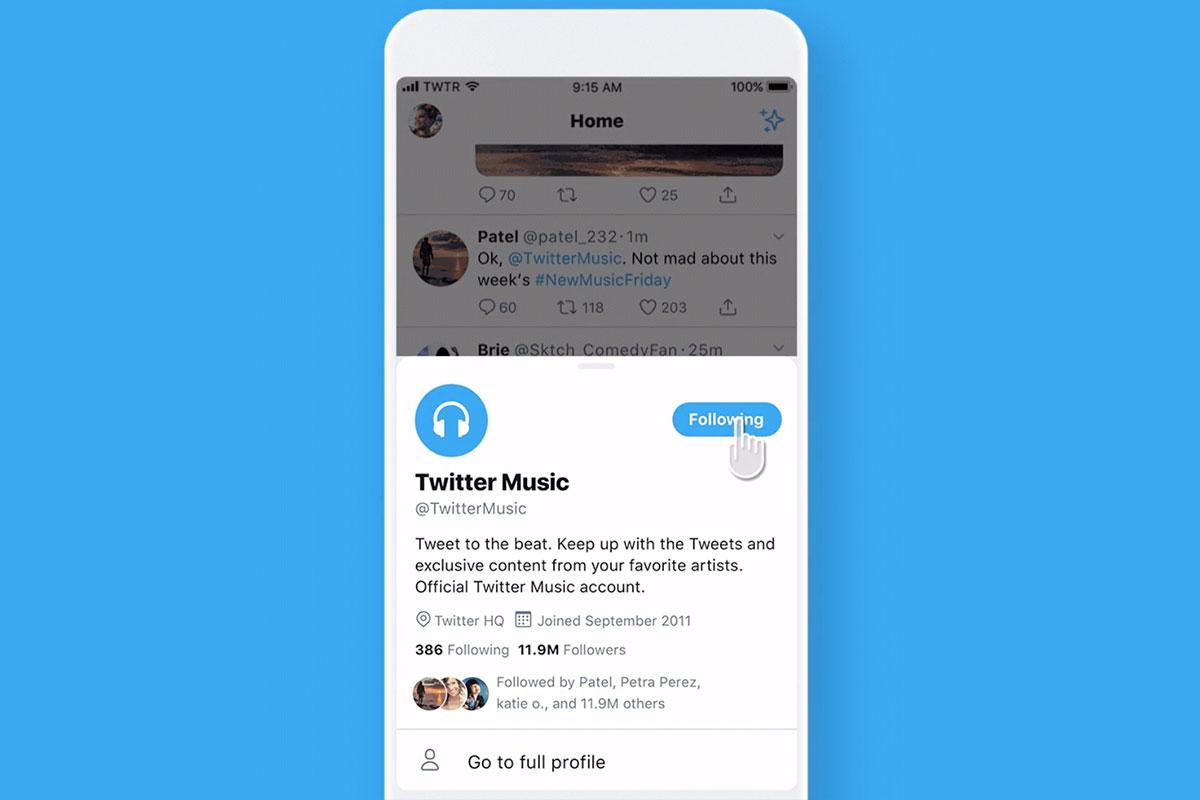 twitter test profilvorschau