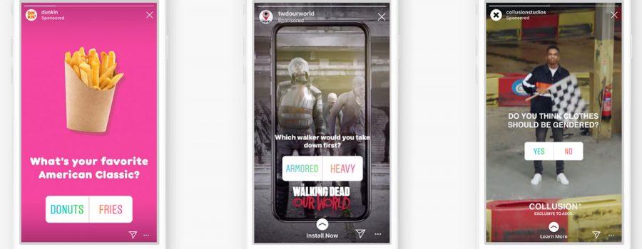 instagram stories-anzeigen umfragen