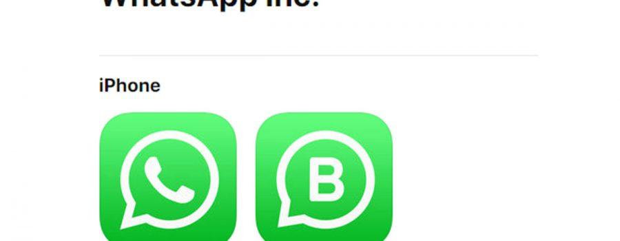whatsapp business ios-version
