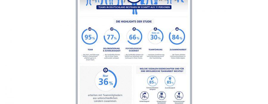 infografik erfolgsheimnis team